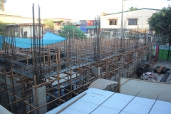On going construction of new building